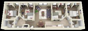 Towers 4-2 Floorplan