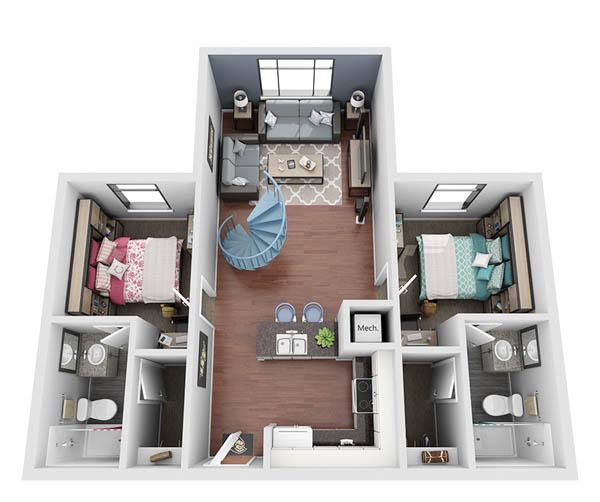 NV loft 1st floor