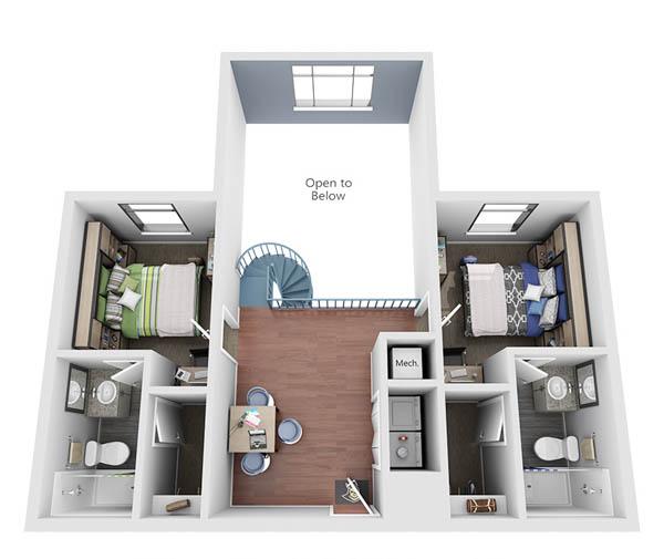 NV loft 2nd floor