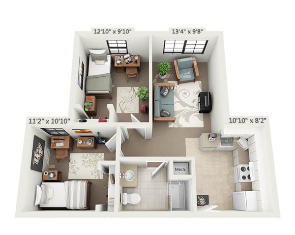 Rosen 2 bed apartment