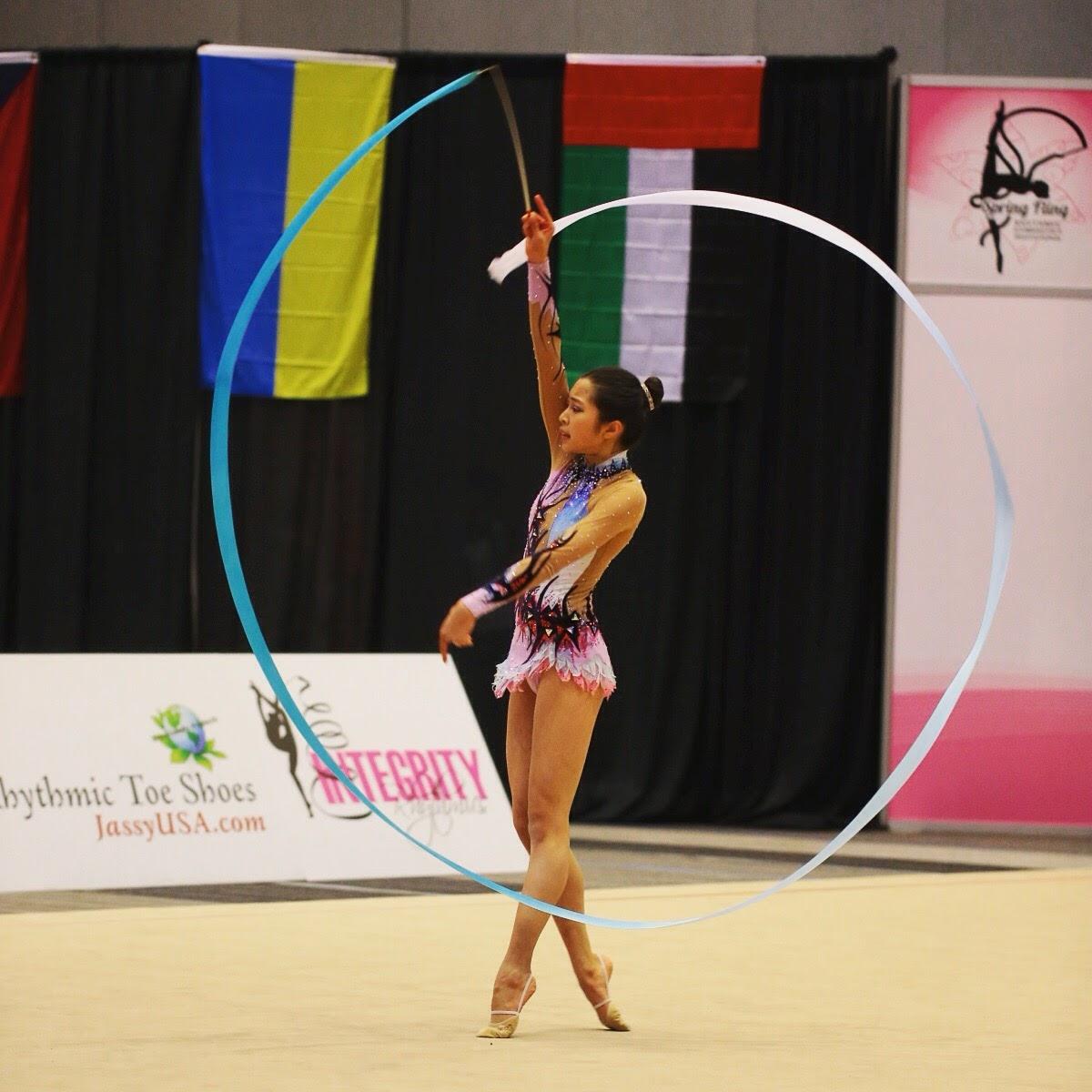 Kristen rhythmic gymnastics 2